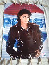 Michael Jackson '87 BAD TOUR Pepsi Poster~STILL IN TUBE