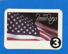 The Beach Boys 1995 Backstage Pass #3 White Border Unused! *