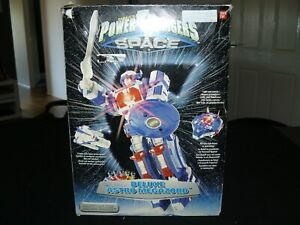 Power Rangers Deluxe ASTRO MEGAZORD Bandai 1997 vintage