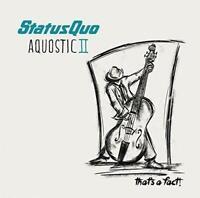STATUS QUO AQUOSTIC 2 THAT'S A FACT ! VINYL 2LP New Gift Idea Classic Album