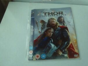 Thor - The Dark World (DVD, 2014) Marvel - Disc & Cover Only - No Case