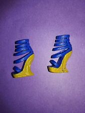 Monster High Doll Clothes Picture Day Cleo De Nile Outfit Blue Gold Shoes Heels