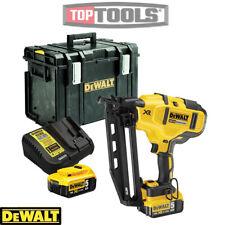 DeWalt DCN660N 18V XR Brushless Nailer Gun + 2 x 5Ah Batteries, Charger & DS400