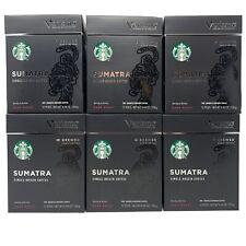 Starbucks Verismo Sumatra Dark Roast Coffee Pods 72 ct Best By 3/28/20