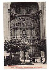 Espagne - cpa - LOGRONO - Puerta principal de la coleglata (H8583)