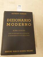 Alfredo panzini dizionario moderno nona edizione 1950