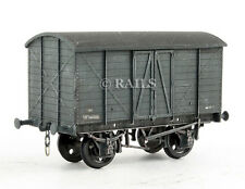 D.C. LAWRENCE 'OO' BR GREY WEATHERED BOX VAN 'W144888'