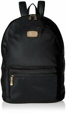 MICHAEL KORS JET SET Lightweight LG NYLON Backpack Tote Handbag Purs Black $298
