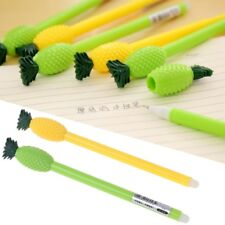 Stationery Cute Candy Color Pineapple Erasable Gel Pens Offices School Supply