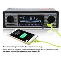 12V LCD-MP3-Player 4-Kanal-Bluetooth-Audio-USB-SD/FM/WMA Radio-Stereo-Player