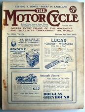 MOTOR CYCLE MAGAZINE 30 JUN 1932 -Dutch TT- British Victories: Norton, Excelsior