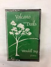 Wendell Ing Volcano Trails Hawaiian New Age Private Press Sealed Cassette Tape