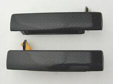 93-02 Firebird Trans Am Camaro Outside Door Handles CARBON FIBER Outer pair
