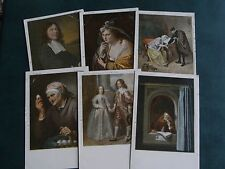 SET OF SIX EARLY TUCK ART POSTCARDS - GALLERY No. 350-355.