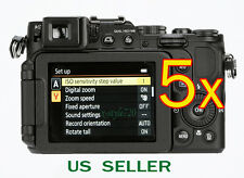 5x Clear LCD Screen Protector Guard Shield Film For Nikon Coolpix P7800 P7700