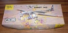 1968 Heller 1/72 scale Amiot 143 (L390) plane kit