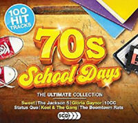 Various Artists : 70s School Days: The Ultimate Collection CD Box Set 5 discs