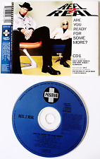 REEL 2 REAL ‎-  Are You Ready For Some More? (CD Single Pt 1) (VG/EX)