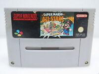 Super Mario All-Stars | SNES Super Nintendo Spiel Videospiel | nur das Modul PAL