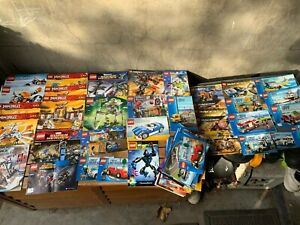 LEGO LARGE BULK LOT OF INSTRUCTIONS, SMALLER SETS