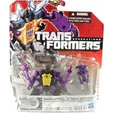 NEW - Transformers Generations - Legends - SKRAPNEL & REFLECTOR