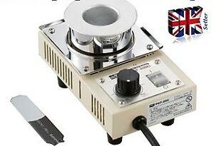 Solder Pot GOOT POT-28C Temperature control knob for optimal dipping
