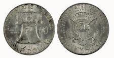 USA 1963 - 1964 Franklin Kennedy Half Dollar (x2) Coin UNC
