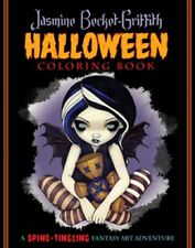 Jasmine Becket-Griffith Halloween Coloring Book NEW