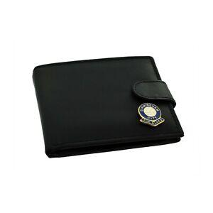 Birmingham City FC 'The Blues' Football Club Genuine Black Leather Wallet