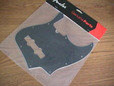FENDER BLACK JAZZ BASS PICKGUARD 10 HOLE 3-PLY 099-1351-000 NEW!
