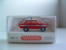 Wiking 0861 24  H0 1/87 Feuerwehr Trabant 601 S OVP B180