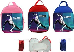 Spider Woman Gwen Stacy #2 Personalised Kids Insulated Lunch Bag