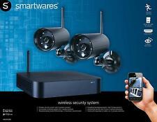 Videoüberwachung Set 2 x Aussen Funk Überwachungskameras Bewegungserkennung  8