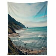 """Catherine McDonald For DENY Pacific Coast Highway Tapestry 60"""" x 90"""" New 5877"""