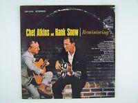 Chet Atkins And Hank Snow - Reminiscing Vinyl LP Record Album LSP-2952
