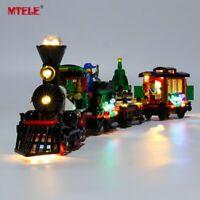 LED Light Up Kit For LEGO Creator 10254 Winter Holiday Train Lighting bricks set