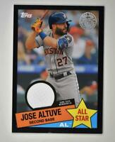 2020 Topps Series 2 1985 All Star Relic Black #85ASR-JA Jose Altuve /199