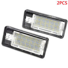 2x Error Free LED License Plate Light Lamp For Audi A3/A4/A6/A8/Q7/RS4/RS6