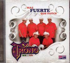 El Trono de Mexico Mas Fuerte que Nunca CD New Sealed