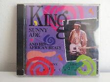 CD ALBUM KING SUNNY ADE & HIS AFRICAN BEATS Live live Juju 500267