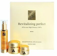 Charis Revitalizing Perfect Set :Collagen Serum,Cream, Eye Cream, Stem-Cell