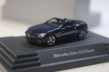 Herpa Mercedes SLK - Klasse (R172), blau metallic - dealer PC - 0506 - 1:87