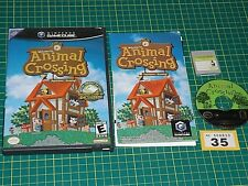 ANIMAL CROSSING - Import game with memory card for Nintendo Gamecube USA NTSC