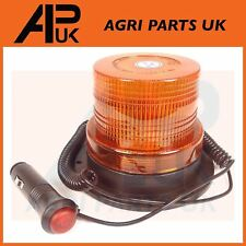 12V Magnetic LED Amber Strobe Beacon Light Emergency Hazard Flashing Bar Car Van