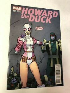 HOWARD THE DUCK #1 1st appearance of GWENPOOL NM/Mint Ron LIM  VARIANT