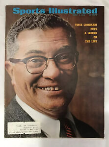 1969 Sports Illustrated GREEN BAY Washington VINCE LOMBARDI Legend On The Line