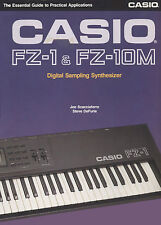 Casio FZ-1/FZ-10M Book + Freebie Casio FZ20 Manual & Cheetah Keyboard User Guide