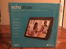 "Echo Show (2nd Gen) 10.1"" HD Screen Smart Speaker - Charcoal Alexa Latest NEW"