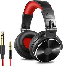 OneOdio Over Ear Foldable Headphone, Wired Bass Headsets 50mm Driver