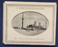 "7 Photographien D. ""Sierra Cordoba"" um 1925 Original Fotografien Schiff sf"